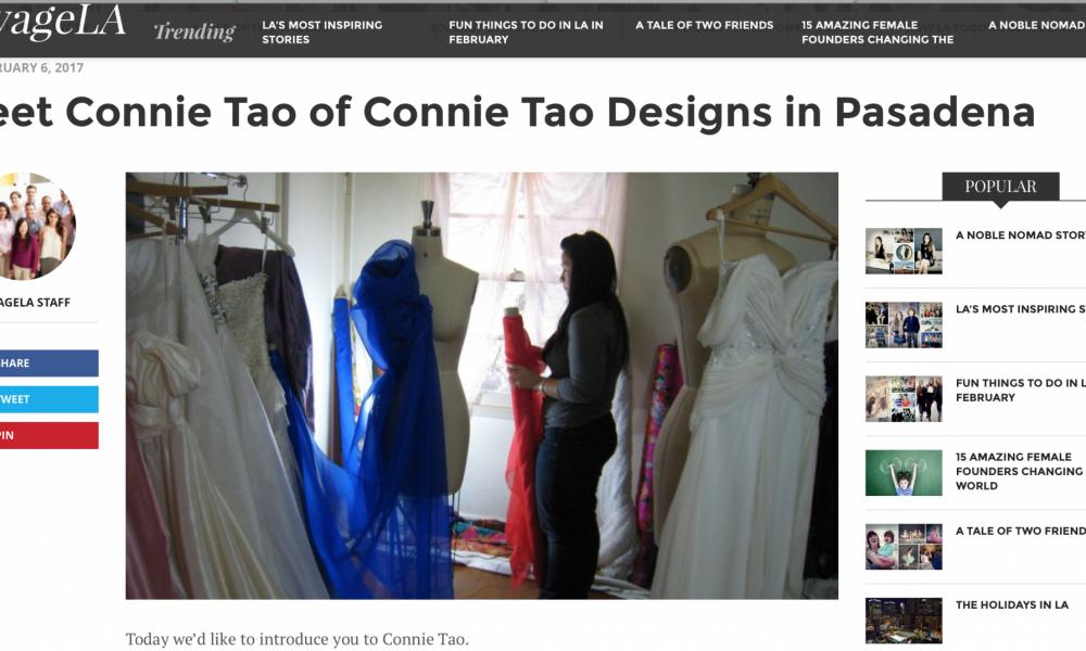 Voyage LA Connie Tao Designs